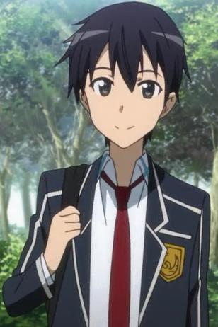 Kazuto Kirigaya from Sword Art Online.