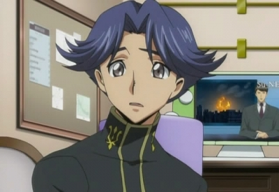 Rivalz from Code Geass, in my opinion. ^-^