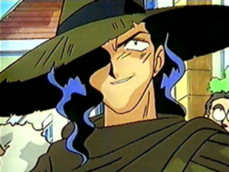 Zangulus the bounty hunter from Slayers.