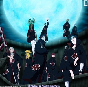 Akatsuki is a mercenary group in Naruto Shippuden movie 6 :)