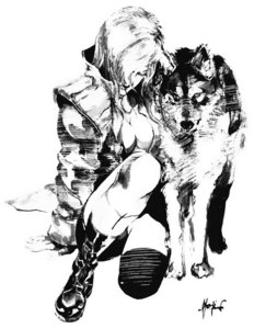 I like the villains from Metal Gear Solid-Series; like Volgin, Sniper Wolf, The Fear etc.