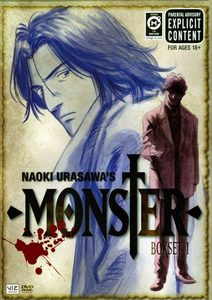 Monster - http://www.animefreak.tv/watch/monster-online Wikipedia Genre: Psychological thriller, Detective fiction, Drama, and Horror. Animefreak Genre: Mystery, Drama, Horror, Police, Psychological, Thriller, and Seinen. http://en.wikipedia.org/wiki/Monster_(manga)