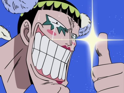 Bon Clay / Mr 2 (One Piece) he is the best drama king............. at first i despised him.,.but later at impel down arc i started liking...........i heard he is still alive...........he he ehe