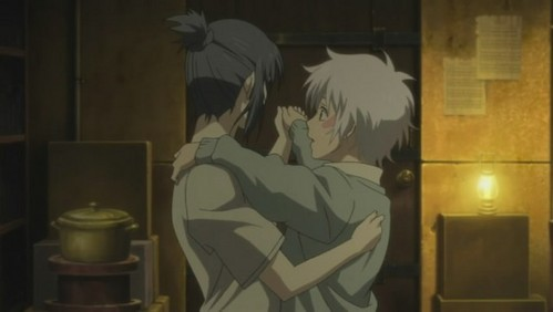 Nezumi and Shion dancing together (NO.6)