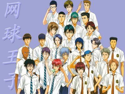 Prince of Tennis is the best school life involving tennis anime...