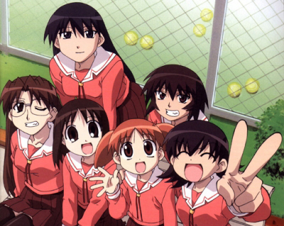 Azumanga Daioh is one of my all-time favourite animes. It doesn't have any particular plotline, it just follows the everyday lives of a bunch of misfit schoolgirls and is very funny in my opinion, albeit in a somewhat mad, crazy fashion.
