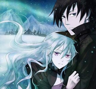 Hei & Yin from Darker Than BLACK. ^ ^