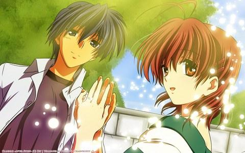 Tomoya and nagisa :D One of my fave besides Nalu^^