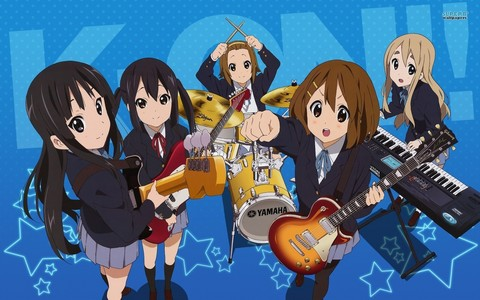 wewe should check K-on, it's mostly about muziki but it's sooo funny :D