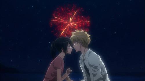 Usui and Misaki ! Kaichou Wa Maid-Sama ♥♥ ♥♥
