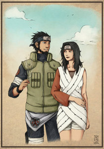Hei and Yin are likely my Favorit but since they have been gepostet . . . I think these two should get honorable mention: Asuma and Kurenai - Naruto