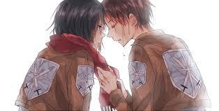 My favorite(s) are: -Eren and Mikasa <3 -Attack on Titan (piC) -Erza and Jelllal - Fairy Tail :) -Kyo and Tohru- Fruits Basket -Nagisa and Tomoya- CLannad :D