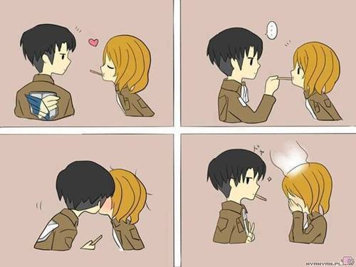 Levi and Petra at the moment ^^