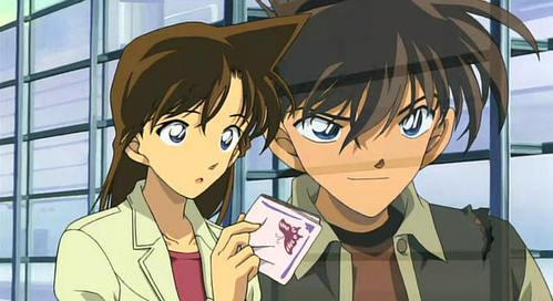 Shinichi and Ran from Meitantei Conan