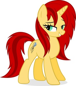 Name Of OC: Rocky Note Age: 23 Gender: Mare Race: Unicorn Likes: Singing, her band, Sweet আপেল Acres' Cider Dislikes: Having stress, Canterlot Friends: Blue Clef (my other OC), Golden String (my other OC), Pinkie Pie, Rarity, Twilight Sparkle and Sunset Shimmer Family: Her mother is still alive, but her father died. Rocky has no siblings. Cutiemark: Microphone with a clef Backstory/Info: Rocky grew up in Canterlot with her parents. On her first দিন of school, she met two other ponies (Blue Clef and Golden String). They immediately became friends. They were happy together and nothing could go wrong in their lives. But then, 2 months after the 3 little ponies met, Rocky's father died. Nopony could help her, she was devastated. To make her sadness bearable, she started to write songs. It were sad songs about how crude life could be. After several months, Rocky started to accept the fact her father was dead. She socialized again and soon the old Rocky was back. A few weeks later, the school organised a talent show. Rocky and her বন্ধু decided to participate. But they had no idea what to do. So they searched some usable stuff at their homes. Blue Clef found an old keyboard, Golden String found a গিটার and Rocky found her old songs. They never tried to play the instruments অথবা sing the lyrics. So they started playing and singing. It worked: Rocky was a wonderful singer, Clef was an awesome keyboard player and String was a great guitarist. After several weeks of practicing, they were ready to rock. Rocky wrote a great new number. This time it wasn't a sad one. When the প্রদর্শনী ended, it was easy to know who won. It were Rocky, Clef and String. They were so loved দ্বারা the public that they decided to form a band. They named it 'Canterlot Snobs'. Rocky wrote আরো and আরো songs, with her friends' help. Every time they performed a show, the public got totally out of control. After a week they were the most famous band in Equestria. Everypony recognized them if they got outs