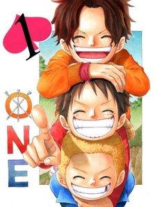 Luffy & Ace & Sabo (One Piece)