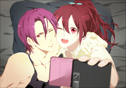 Rin and Gou From Free!:D