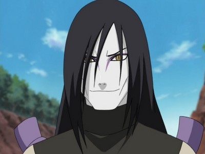 Orochimaru! Can't really get a meaner look than this... :P