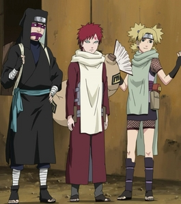 The sand siblings from Naruto!! :3