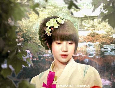 Taemin is the prettiest.