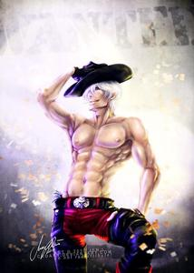 Dante sparda form devil may cry becuse hes sexy as hell and hes awesome so many x raid tings in my mind about him ;)