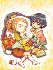 Kidou and haruna ♥ My favourite siblings..♥ ^.^