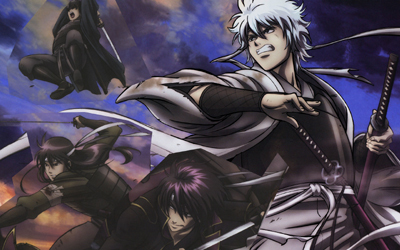 The men known as last samurais. The legendary Joui 4 The shiroyasha(Gintoki) The noble youth of fury(Katsura) The leader of the Kiheitai(Takasugi) The loud person(Sakamoto) They're all legends after everything that happened during the war
