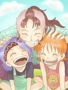 Post pictures of a mother and daughter anime answers fanpop - Belmer one piece ...