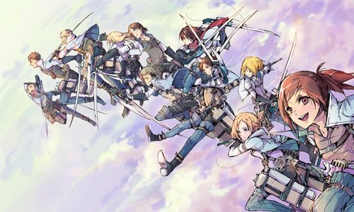 Try these! -Neon Genesis Evangelion -Attack on Titan -Serial Experiments Lain -Puella Magi Madoka Magica Try those; they can all be classified as psychological and have a unique, individual plot. ~ Be warned that both Attack on Titan and Evangelion can be disturbing at points. **just fair warning!** Then again, if wewe handled Another, wewe should be just fine. Below is just some cute Attack on Titan fanart I found. Hahaha