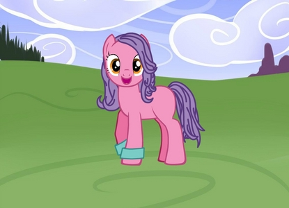 Name: Never really thought of a name, but I guess I'll go with Golden Brush. Race of Pony: Well, I'd be either an earth pony oder alicorn, but I just made my Icon being an earth pony :P Cutie Mark: A paintbrush in front of a bubble-shaped herz Color of Mane: Earth Pony: Purple, Alicorn: Dirty Blonde Job: Nothing Alicorn Magic Aura Color: kakao Brown Eye Color: Earth Pony: Orange, Alicorn: Deep Brown mantel Color: Earth Pony: Light Pink, Alicorn: a pale blue