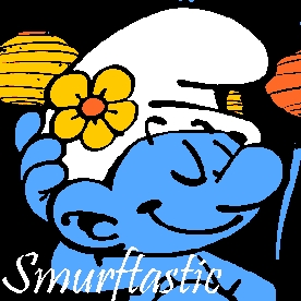 Vanity Smurf because...he's the best Smurf lol.