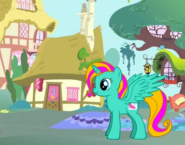 can i kom bij if its okay here is a pic of my oc her name is Dream Song oh and she is in Applejack's side: