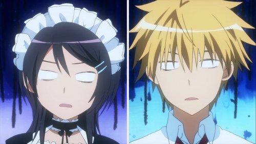 Usui and Misaki from Kaichou Wa Maid Sama!