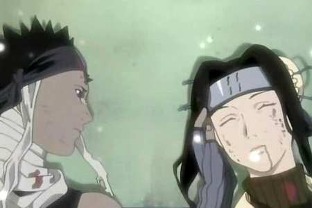 Poor Haku is dead :(! Oh... this is from Naruto btw!