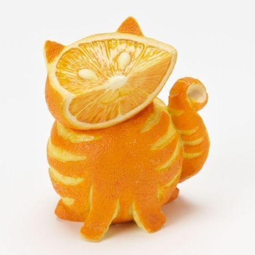 Licking Oranges Very Emotionally
