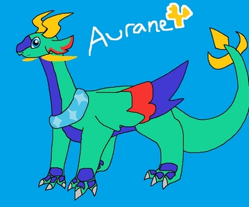 I believe that we all have our own inner dragon spirit, but only those who devote themselves can achieve a transformation. Anyway, I think I would be a fire dragon. Here's a pic of my dragon self, whose name is Aurane. ;3