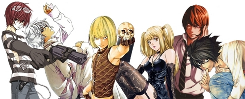 Well, the first Anime that I ever SAW was Dragon Ball Z Kai, but the first that I got into and watched in order was Death Note. ^-^