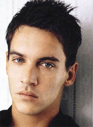 JRM staring at us with his gorgeous blue eyes.