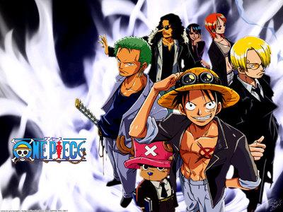 One Piece atau Dragon Ball Z :)) But I'm pretty sure it's OP xD