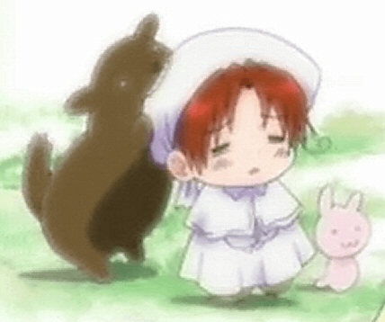 My mother tends to like anything that's cute in anime. X3 One of my mom's inayopendelewa characters is Chibitalia from Hetalia.