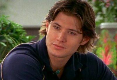 Jensen with longish hair
