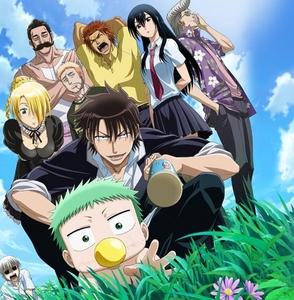 1) Beelzebub 2) One Piece 3) Berserk 4) Fairy Tail 5) Gantze