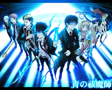 wewe should check out Ao no Exorcist (if wewe haven't watched it), there are demons and cute boys :) And wewe may also check Deadman Wonderland,it's very good though there aren't any demons but there are cute boys and the plot is awesome.
