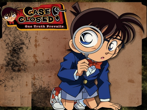 "My first Anime was Meitantei Conan's english dub ""Case Closed""!"