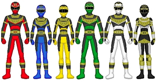Power Rangers Solar Squad: