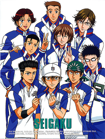 Prince of Tennis is a great tennis sport anime...!!! I highly recommend it!!!~