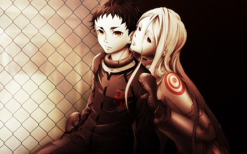 Right now it's Shiro and Ganta from Deadman Wonderland, they're sooo cute together <3