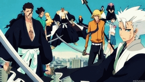 Bleach its the leading best anime of all.........he he he he