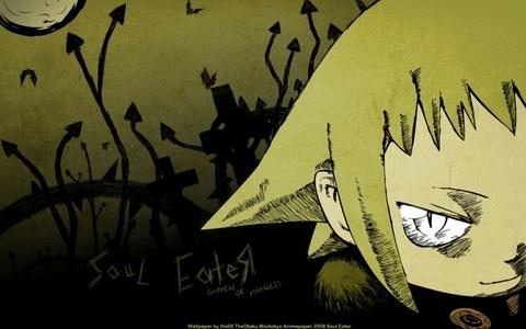 Medusa (soul eater) She is soooo scary!!!!