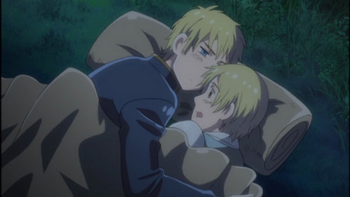Sweden with Finland from Hetalia...